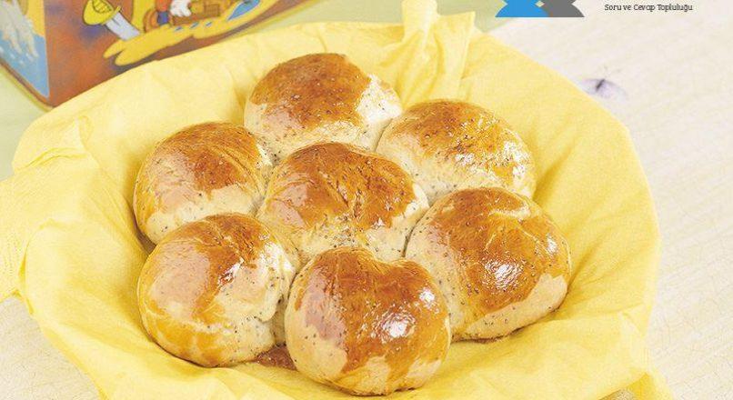 Haşhaşlı papatya ekmek