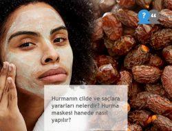 Hurmanın cilde ve saçlara yararları nelerdir? Hurma maskesi hanede nasıl yapılır?