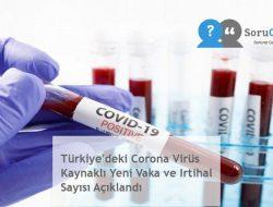 Türkiye'deki Corona Virüs Kaynaklı Yeni Vaka ve Irtihal Sayısı Açıklandı