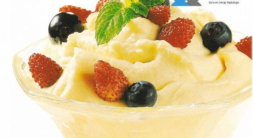 Vanilyalı dondurma