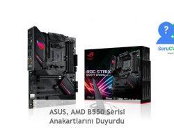 ASUS, AMD B550 Serisi Anakartlarını Duyurdu