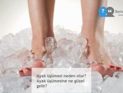 Ayak üşümesi neden olur? Ayak üşümesine ne güzel gelir?