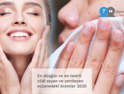 En düzgün ve en tesirli cildi soyan ve yenileyen eczanedeki kremler 2020