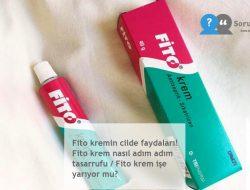Fito kremin cilde faydaları! Fito krem nasıl adım adım tasarrufu / Fito krem işe yarıyor mu?