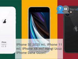 iPhone SE 2020 mi; iPhone 11 mi; iPhone XR mı? Hangi Ucuz iPhone Daha Güzel?