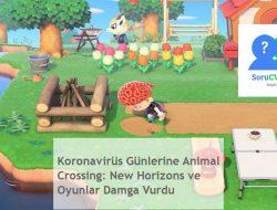 Koronavirüs Günlerine Animal Crossing: New Horizons ve Oyunlar Damga Vurdu