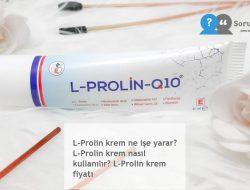 L-Prolin krem ne işe yarar? L-Prolin krem nasıl kullanılır? L-Prolin krem fiyatı