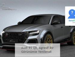 Audi RS Q8: Ciddi & Agresif Görünüm #Fiyat 2020