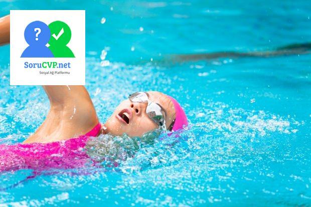 yüzerek depresyonu yok edin