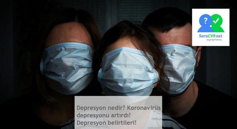 Depresyon> Koronavirüs ilişkisi! Depresyonlar arttı