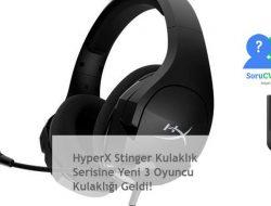 Hyperx Cloud Stinger: Siyah Gaming Kulaklık Seri> 3 Yeni Kullaklık!