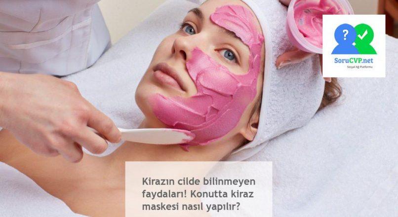 Evinizde Kiraz Maskesi Yapın [Çok Basit], bilmediğiniz faydalarını öğrenin!