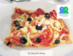 Üç Peynirli Pizza [2020 Süper Tarif]