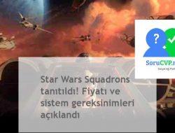 Star Wars Squadrons Fiyat, sistem gereksinimleri [2020]