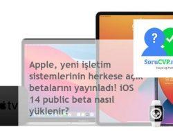 iOS 14 Public Beta Nasıl Yüklenir? Apple, betaları herkes için yayınlandı.