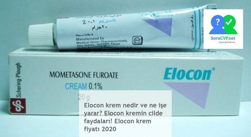 Elocon krem nedir: ne işe yarar, cildinize faydaları [Elocon krem fiyatı 2020]